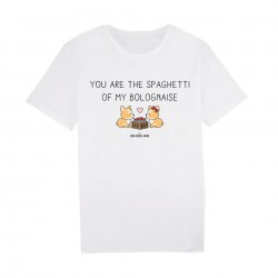 You are the Spaghetti of my bolognaise - Tshirt blanc Homme - JM Panda