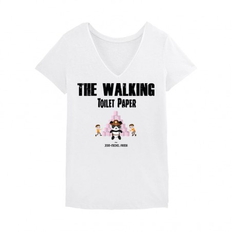 Tshirt Femme - The walking...