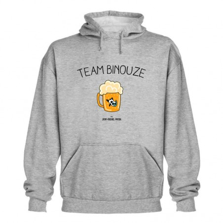 Sweat capuche - Team Binouze