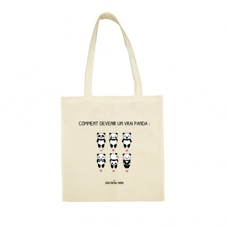Tote bag - Comment devenir...