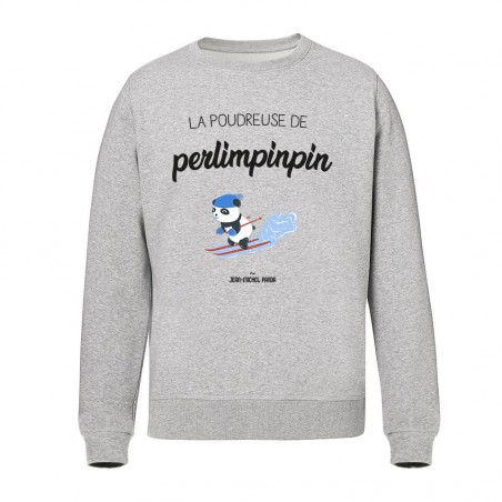 Sweat Unisex - La poudreuse...