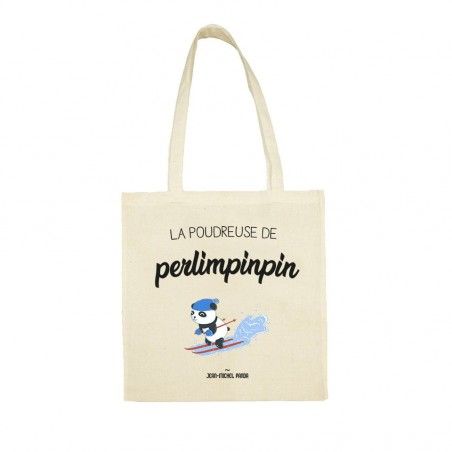 Tote bag - La poudreuse de...