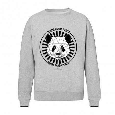 Design panda - Sweats - Gris