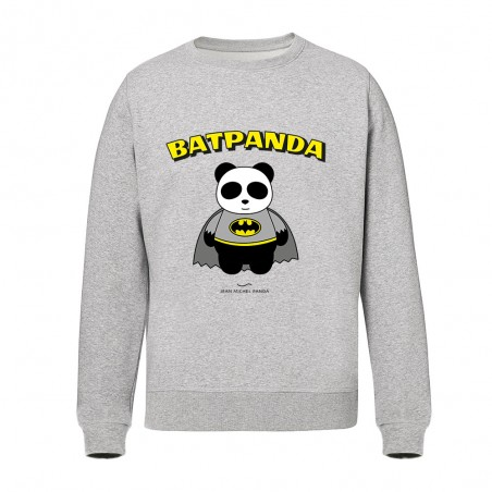 Sweat Gris Homme - Batpanda