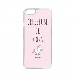 Coque iPhone / Samsung / Huawei - Dresseuse de licorne