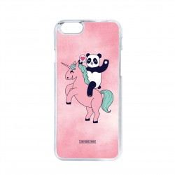 Coque iPhone / Samsung / Huawei - Panda love licorne