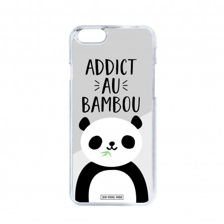 Coque iPhone / Samsung / Huawei - Addict au bambou
