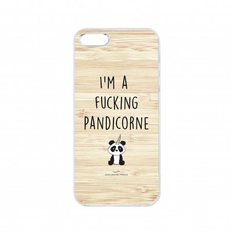 Coque iPhone / Samsung / Huawei - I'm a fucking pandicorne