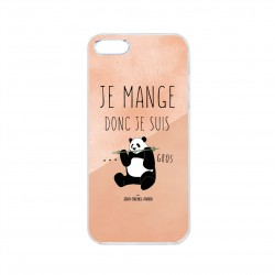 Coque iPhone / Samsung / Huawei - Je mange donc je suis gros