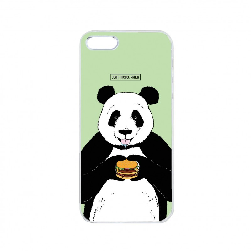 Coque iPhone / Samsung / Huawei - Panda Burger