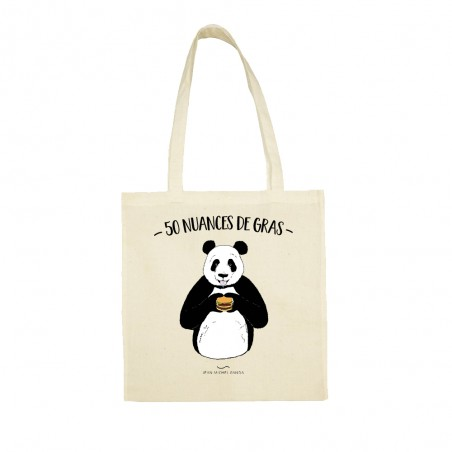 Tote bag - 50 nuances de gras