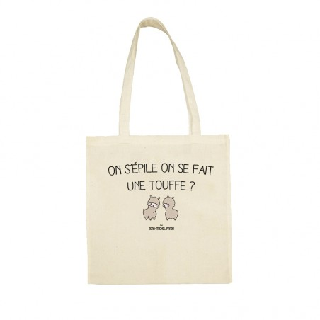 Tote bag - On s'épile et on...