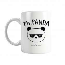 Pack Mugs - Mr & Mme panda - Jean Michel Panda