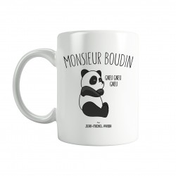 Pack Mugs - Mr & Mme boudin - Jean Michel Panda