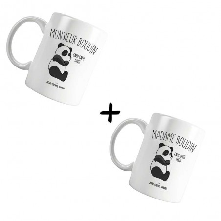 Pack Mugs - Mr & Mme boudin