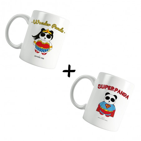 Pack Mugs - Superpanda et...