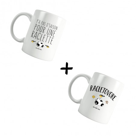 Pack Mugs - Y'a pas...