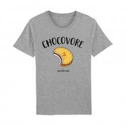 Chocovore - t-shirts homme gris - Jeanmichelpanda