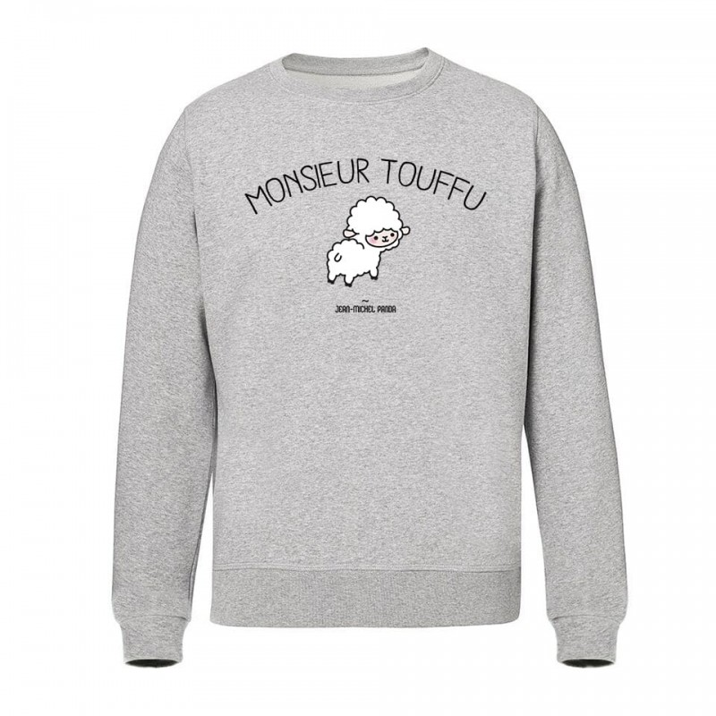Monsieur touffu - Sweat-Shirt Unisex - Gris - Jean-MIchel Panda