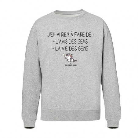 Sweat Unisex - J'en ai rien...