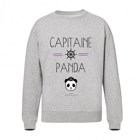 Capitaine Panda - Sweat-shirts - Gris