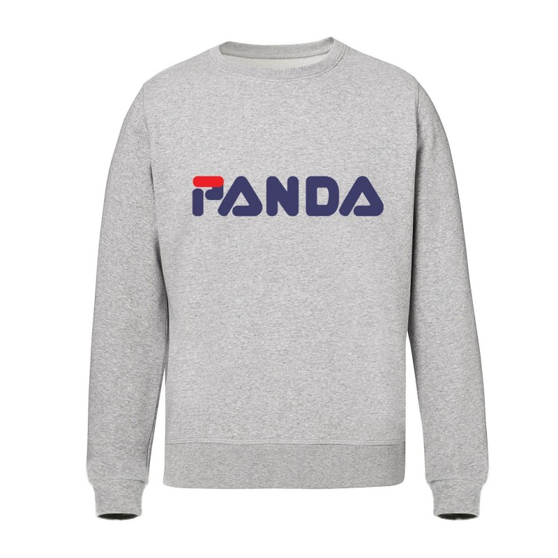 Panda Filz - Sweat shirts gris