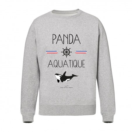 Sweat Unisex - Panda Aquatique
