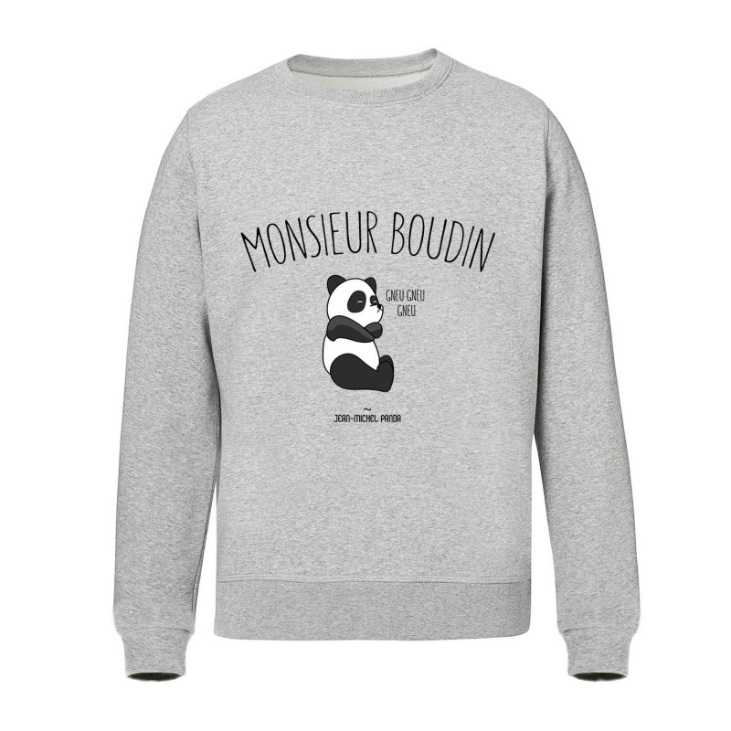 Sweat-shirt gris - Monsieur boudin