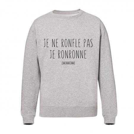 Sweat Unisex - Je ne ronfle...