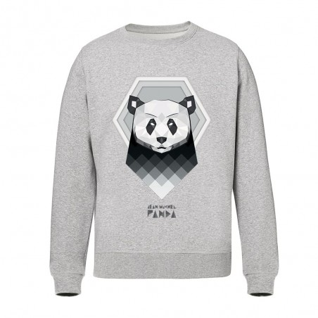 Panda origami - Sweat-shirts - Gris