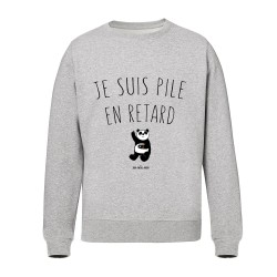 Je suis pile en retard - Sweat-shirts