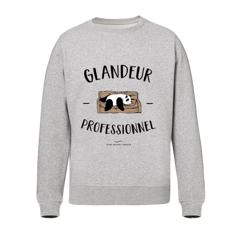 Sweat gris - Glandeur Professionnel