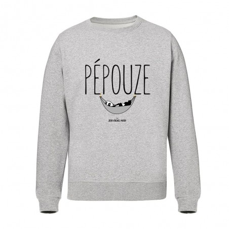 Sweat Unisex - Pepouze Gris