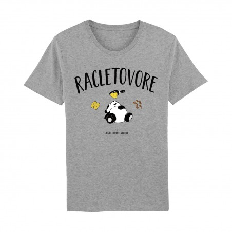 Tshirt Gris Homme - Racletovore
