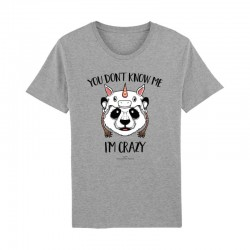 Tshirt Gris Homme - You don't know me i'm crazy