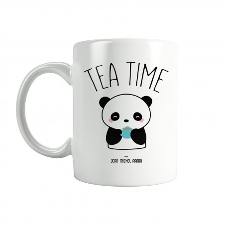 Tea time - Mug en céramique - Jean Michel Panda
