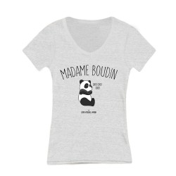 Tee shirt Femme - Madame boudin - Taille L