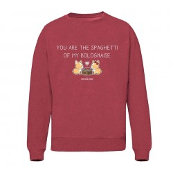 You are the spaghetti of my bolognaise - Sweat Unisex - Jean Michel Panda
