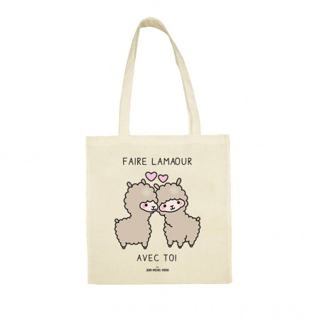 Tote bag - Faire lamaour...