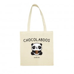 Chocolabdos - Sac réutilisable - Jean Michel Panda