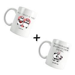 On va faire un bambou de chemin & All I need is you - Pack Mugs
