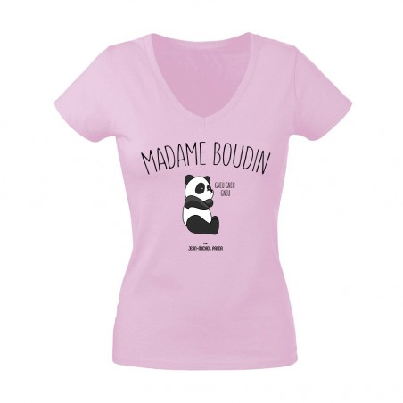 Tee shirt Femme - Madame boudin - Taille XL