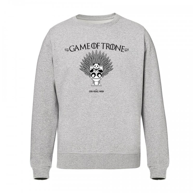 Game of Trone - Sweat Unisex gris - Jean Michel Panda