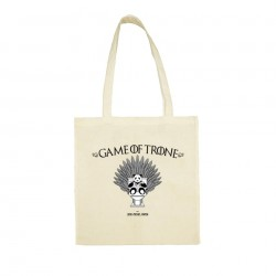 Game of Trone - Totebag beige - Jean Michel Panda