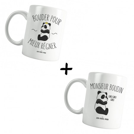 Pack Mugs - Bouder pour...