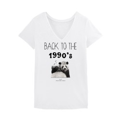 Back To The 1990's Tshirt Femme -Blanc