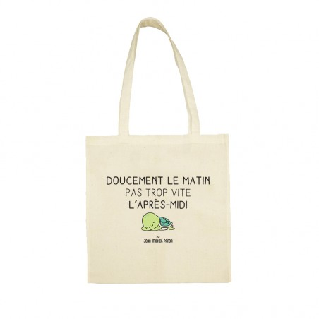 Tote bag - Doucement le...
