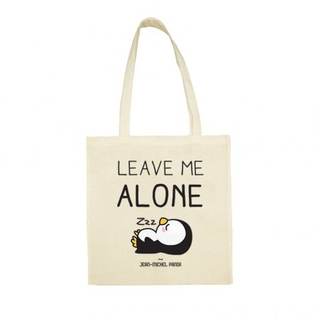 Leave me alone - Totebag beige - Jean Michel Panda