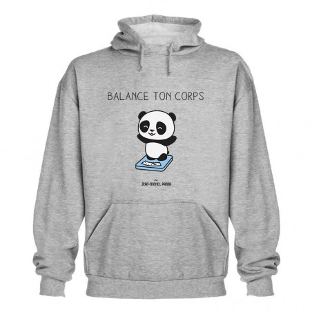 Sweat capuche - Balance ton...