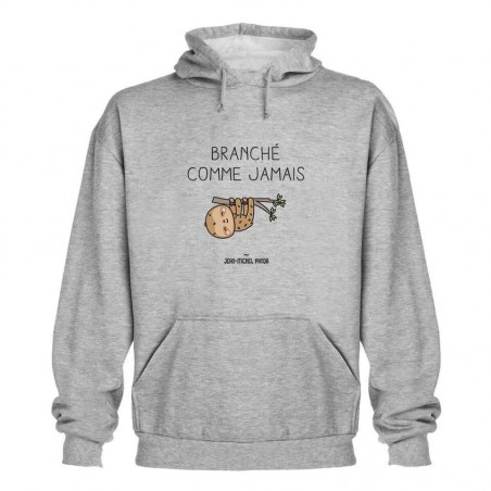 Sweat capuche - Branché...